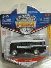 JADA TOYS 1:64 BADGE CITY HEAT CITY BUS POLICE