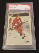 1953 Parkhurst Hockey Gordie Howe #50 - PSA 7