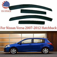 Fit for Nissan Versa 2007-2012 Hatchback Window Visor Rain Guard Shade Weather