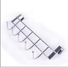 FantasticHat Towel Hanger Over Door Hanging Rack Holder Five Hooks Chic FT