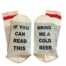 Custom Men/Women Socks If You Can Read This Bring Me a Glass of Beer Wine Coffee