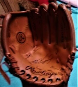 Youth Size RAWLINGS RBG160  Ken Griffey Jr Left Handed Leather Baseball Glove