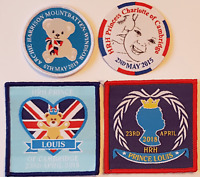 Princess Charlotte Prince Louis Archie Royal baby badge patch Royal Family patch