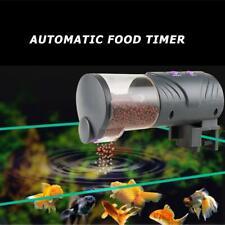 Digital Auto Electrical Plastic Fish Feeder Tank Timer Portable Aquariums Feeder