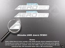 HONDA 1986 AERO NB50 DECAL GRAPHIC SET LIKE NOS