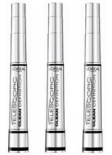 3 x L´oreal Loreal TELESCOPIC False Lash Extension Mascara Magnetic schwarz noir