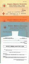 Storia postale del Regno d'Italia sul Croce Rossa