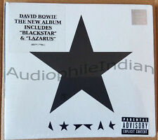 David Bowie I N D I A OFFICIAL CD Blackstar Hologram Sealed Rare With Stickers