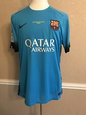 Barcelona Player Issue Shirt Match Unworn Prepared Suarez Uruguay Jersey