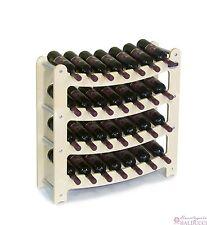 Cantinetta Portabottiglie in legno da 28 posti (vino)