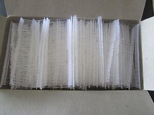 5000 x Tag Pins Tagging Gun Barbs Plastic Fasteners Kimbles Polypropylene Label