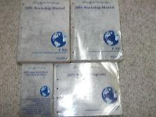 2001 Ford F-150 F150 Truck Service Shop Repair Manual Set FACTORY OEM BOOKS x