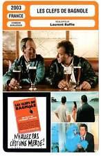 FICHE CINEMA : LES CLEFS DE BAGNOLE - Laurent Baffie 2003 The Car Keys