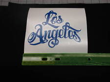 LOS ANGELES VINYL CAR STICKER/DECAL BRAND NEW