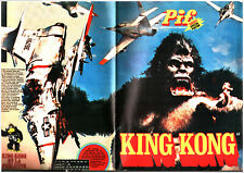 PIF GADGET SPECIAL POSTER KING KONG # FORMAT 59X86 cm  1976 VAILLANT
