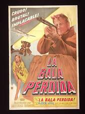 SHOOT FIRST * JOEL McCREA * ARGENTINE 1sh POSTER 1953