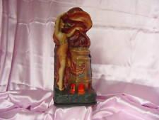 Antique 1928 Martin Novelty Deco Motion Pinup Figure Lamp Vintage Incense Burner