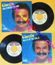 LP 45 7'' GIORGIO MORODER Hollywood dreams Valley of the dolls 1980 no cd mc*dvd
