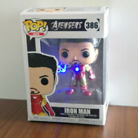 Funko POP Customized Avengers Vinyl Figure Iron Man #386 With Box