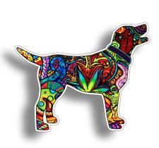 Graffiti Labrador Dog Sticker Vinyl Cup Tumbler Laptop Car Truck Window Lab Auto