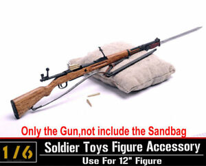 1/6 Ti-Lite T8002 Soldier Chiang Kai-shek Metal rifle gun+bayonet+bullets Model