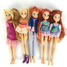 Lot 5 Winx Club Doll Bloom Stella Flora Enchantix Rainbow