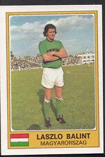 Football Sticker - Panini Euro Football 1976 - No 180 - Laszlo Balint - Hungary