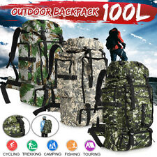 100L Military Camping Backpack Tactical Camping Hiking Travel Bag Pack