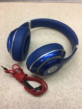 Beats by Dr. Dre Studio Headband Wired Headphones - Blue- NICE!
