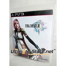 Jeu PS3 Final Fantasy XIII - 13 + Publicité - PlayStation 3 - Square Enix