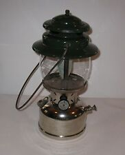 Vintage Coleman Lantern no 236 With Chrome Base 1956  FREE SHIPPING