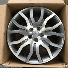 """GENUINE RANGE ROVER L322 VOGUE SUPERCHARGED 20""""INCH POLISHED SINGLE ALLOY WHEEL"""