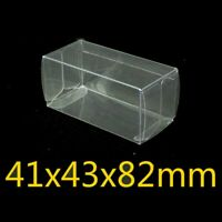 50PCS Model Car Display Box Case Cover Transparent Kids Toy Wheel Exhibition Acc