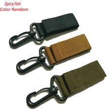 Tactical Molle  Belt Carabiner KeyHook Webbing Buckle Strap Clip Backpack