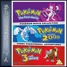 POKEMON - 3 MOVIE COLLECTION    **BRAND NEW DVD BOXSET*