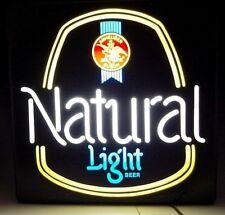 Anheuser Busch Light Natural Lighted Beer Sign Sign Display