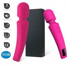 9 High speed LED Cordless Handheld Massage Vibrating Wand Full Body Massager FDA