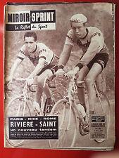 09/03/1959 miroir sprint n°666 PARIS NICE ROME RIVIERE SAINT RUGBY BONIFACE