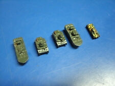 LOT OF 5  TANKS JAPANESE W.W.II MICRO ARMOUR  HAND PAINTED
