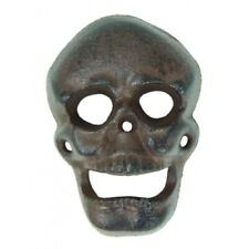 Cast Iron Wall Mounted Skull Bottle Opener