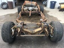 1981 Corvette Rolling Chassis Frame Rear End Suspension 80 82 Collector L82