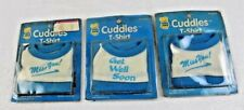 CUDDLES T-SHIRT - 1986 R DAKIN & COMPANY - LOT OF THREE