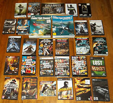 LOT OF 32 WINDOWS PC CD-ROM RETRO SHOOTER/ACTION COMPUTER VIDEO GAME COLLECTION