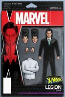 UNCANNY X-MEN 3 2018 JOHN TYLER CHRISTOPHER LEGION ACTION FIGURE VARIANT NM