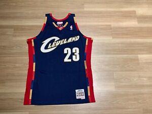 Men LeBron James LBJ Mitchell Ness Cleveland Cavaliers Jersey Swingman Vintage
