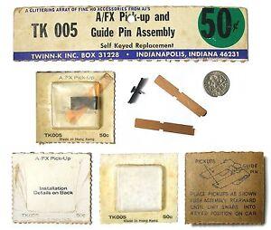 RARE 1970s AJ's HO Slot Car AF/X PICK-UP GUIDE PIN ASSEMBLY AFX Mag Hop Up Parts