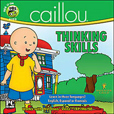 Caillou Thinking Skills  Learn in English Spanish or French    hours of fun  NEW