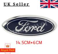 For Ford Bonnet Boot Badge Emblem Mondeo Fiesta MK6 Zetec S KA Kuga 14.5cm x 6cm