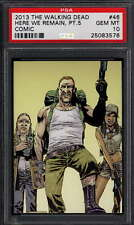 2013 Cryptozoic #46 The Walking Dead Comic Abraham Ford 0576 PSA 10