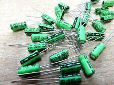 50 Nover 10uf 35v 105'C electrolytic capacitors